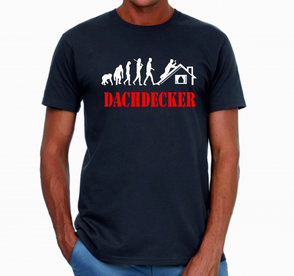 Dachdecker Evolution, T-Shirt